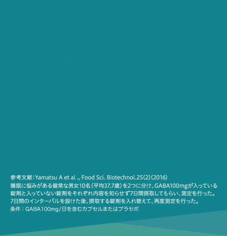 参考文献:Yamatsu A et al ., Food Sci. Biotechnol.25(2)(2016)